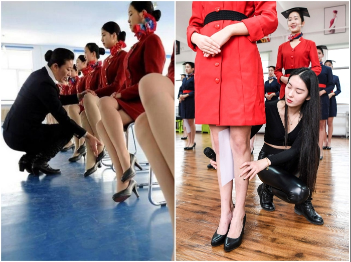 На подготовительных курсах опытные инструкторы учат абитуриентов правильно сидеть и стоять. | Фото: bodyguards.com.ua.