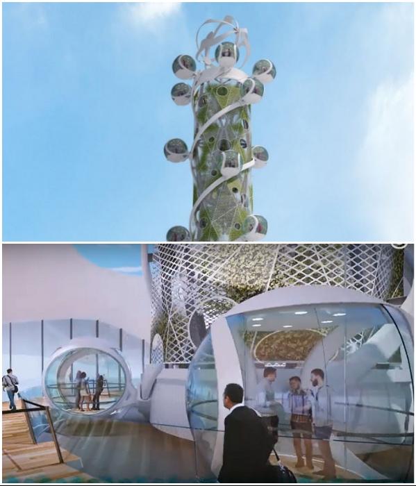 Авторы проекта считают, что подобные аттракционы будут привлекательны для жителей и гостей любого города (концепт «Spiral Tower»). youtube.com/ © NorthernLight.