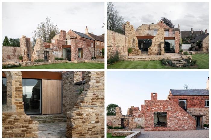 Британские архитекторы превратили руины старинной пергаментной фабрики в семейное поместье. | Фото: interior.ru/ ajbuildingslibrary.co.uk, © Johan Dehlin.