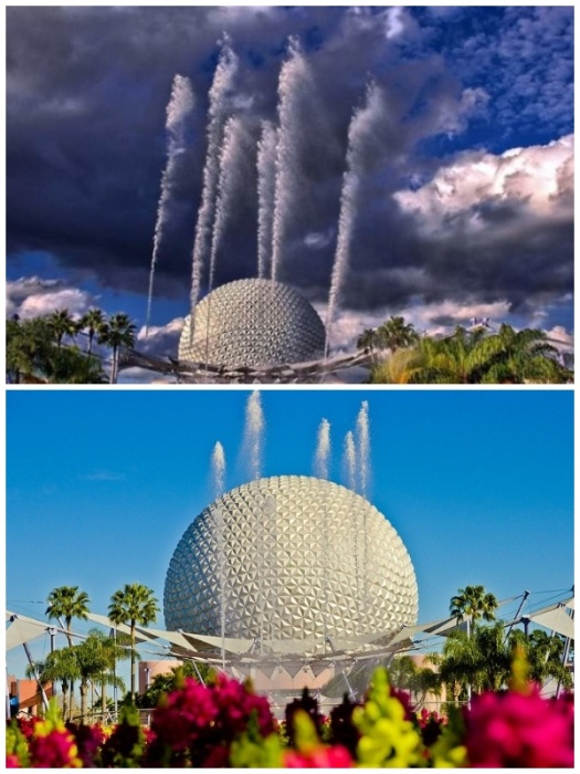 Фонтан Наций во Флориде находится в удивительном мире мультипликационных героев(США). | Фото: glavcom.ua/ fishki.net.