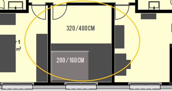 Творческий эксперимент по созданию многофункциональной зоны проводился в комнате размером 3,2*4. | Фото: youtube.com/ DIY Floyd.