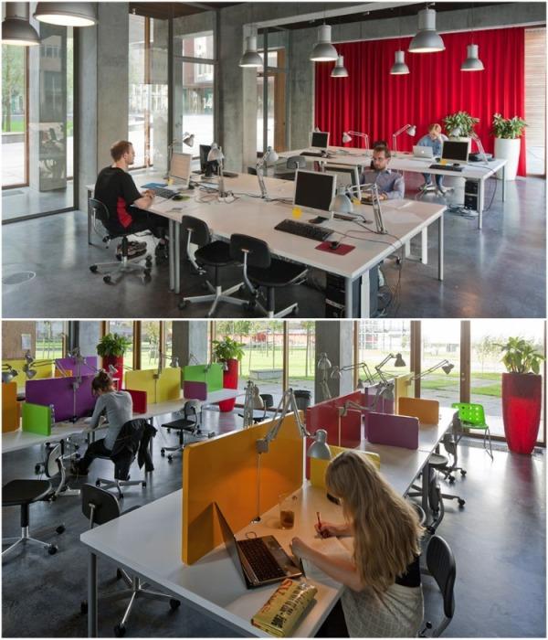 В студенческом общежитии есть читальные залы и компьютерные классы (Tietgenkollegiet, Копенгаген). | Фото: tourister.ru.