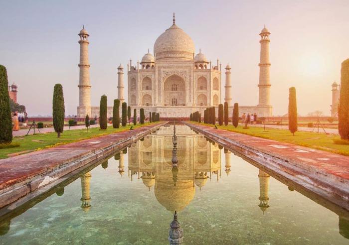Не одно столетие мавзолей Тадж-Махал окутывает огромное количество мифов и легенд (Индия). | Фото: wonderslist.com.