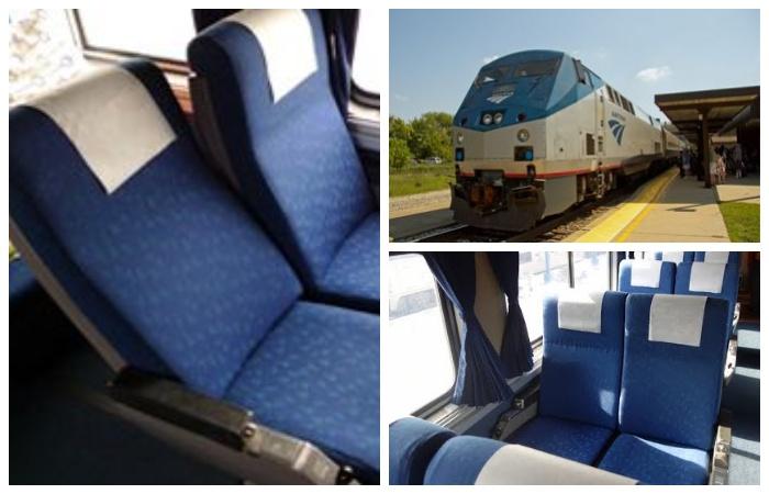 Американские вагоны со спальными плацкартными местами.