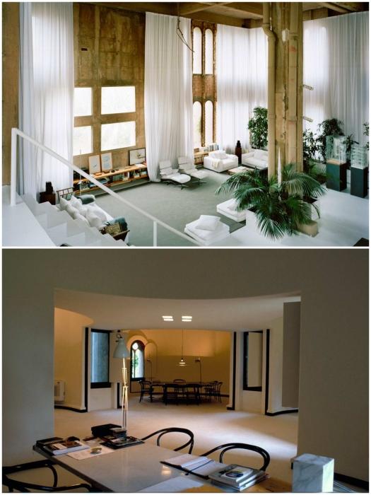 Благодаря открытой планировке жилая зона «La Fabrica» получилась просторной.   Фото: rmnt.ru/ magazindomov.ru.