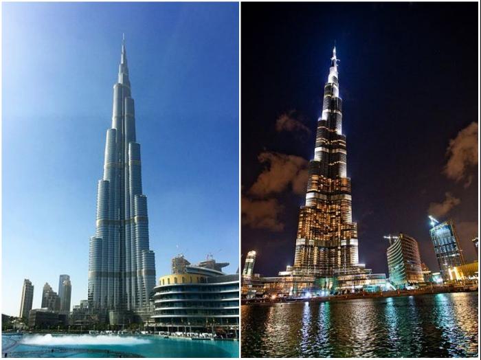 Небоскреб Бурдж-Халифа до сих пор является мировым рекордсменом по высоте (Дубай). | Фото: com/tournavigator.pro.