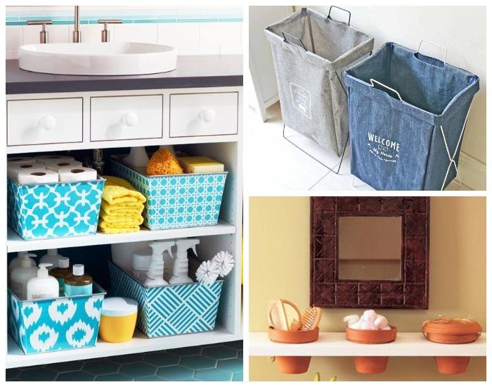 Для того, чтобы не создавать хаос при хранении большого количества предметов и вещей, их лучше помещать в коробки или контейнеры.