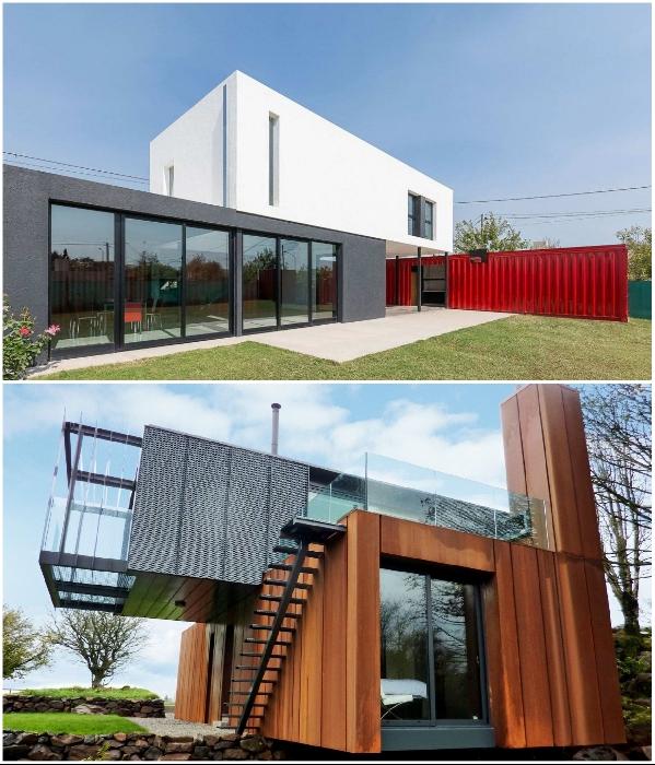 Дом из контейнера тоже можно сделать произведением искусства. | Фото: roomester.ru.