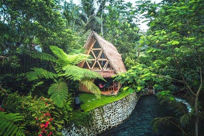 Уникальное место отдыха в самой укромной деревне на Бали.