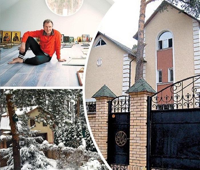 Загородный – любимое место отдыха семьи Александра  Малинина