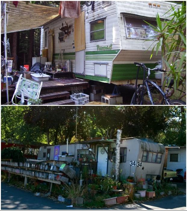 В Соединенных Штатах все больше людей именно таким способом решает жилищный вопрос.   Фото: twitter.com.