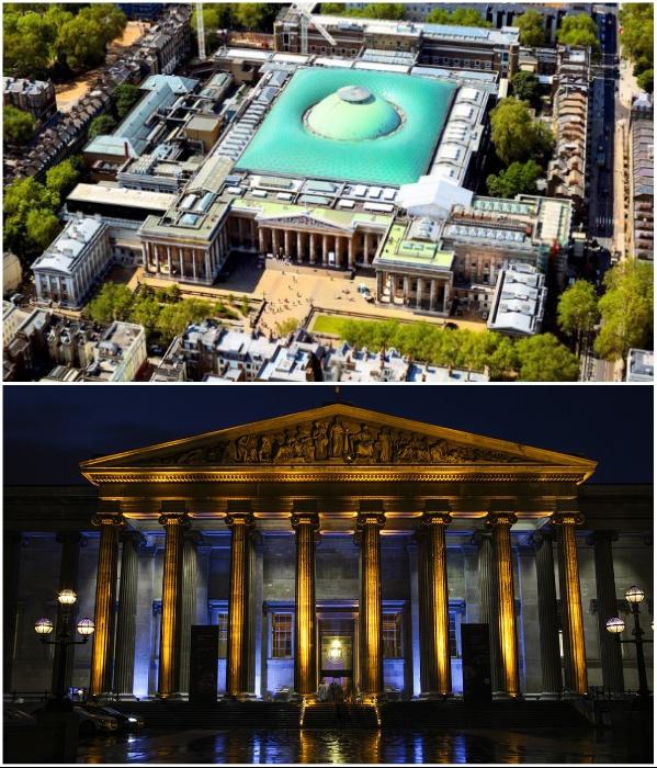 Британский музей с его впечатляющими экспонатами стал самой известной достопримечательностью Лондона (Великобритания). | Фото: tonkosti.ru/ touristam.com.