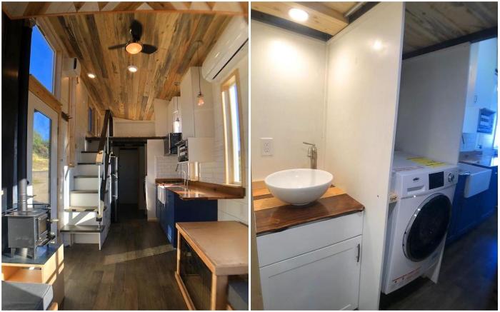 В мобильном отельном номере есть все необходимое для длительного отдыха всей семьей (Timberwolf 24', Миннесота).