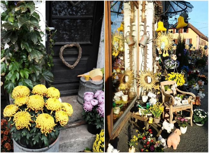 Оригинальные цветочно-декоративные композиции украшают магазинчик и сам дом Бруно круглый год. | Фото: designyoutrust.com.