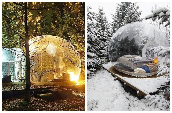 Фантастический вид самых необычных отельных номеров (The 5 Million Star, Исландия).