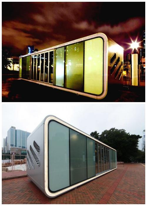 Уникальный алюминиевый домик Alpod создали три азиатские компании (Китай).