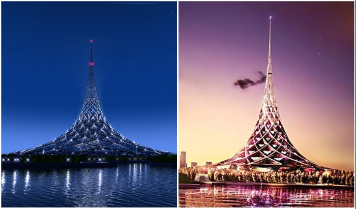 «Хрустальный остров» в Москве – один из самых амбициозных и грандиозных проектов Нормана Фостера.