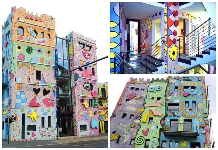 Самый невероятный офисный комплекс в Германии («Happy Rizzi House», Брауншвейг).