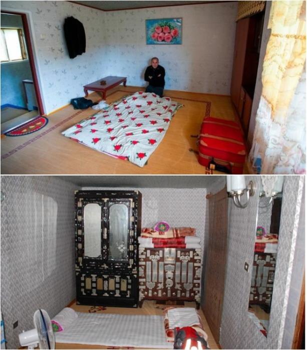 Большинство простых граждан спят просто на полу. | Фото: lemurov.net.