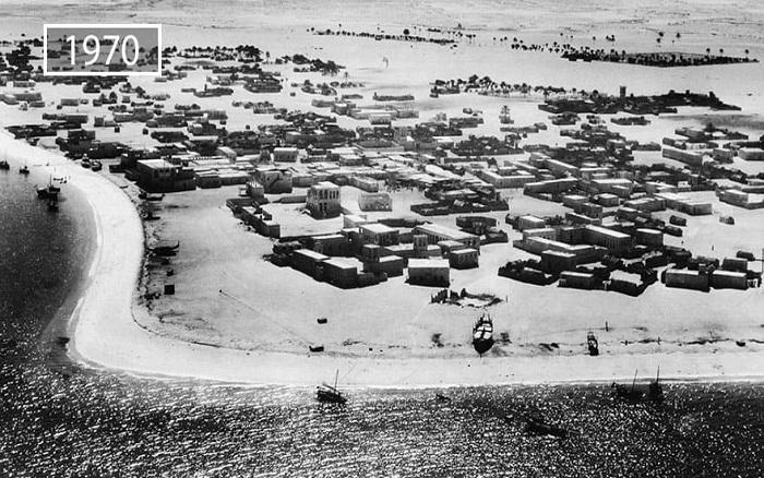 Так выглядел Абу Даби в 70-х годах прошлого века.