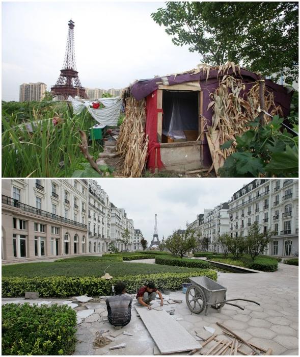 Жалкое подобие Парижа навевает лишь тоску.