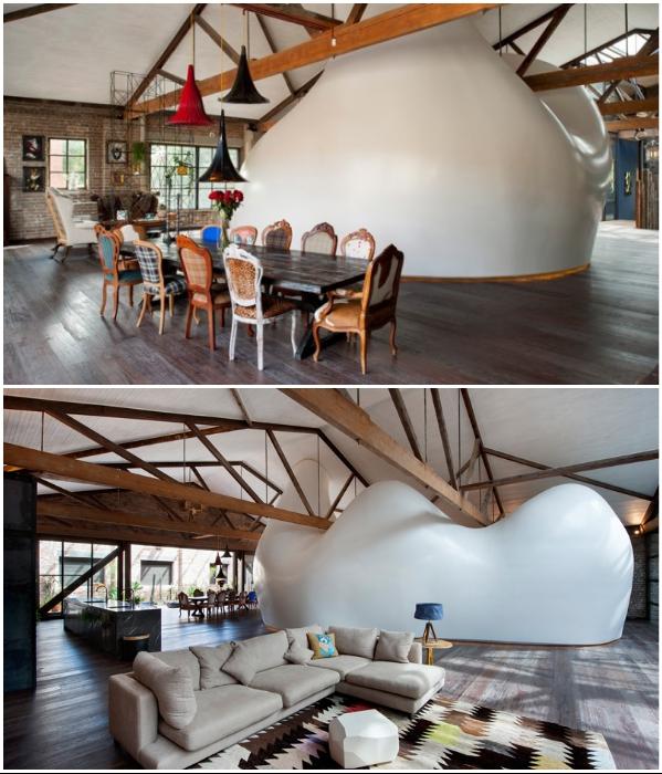 Австралийские дизайнеры превратили большой склад в современное, комфортное жилище (Сидней, Австралия). | Фото: happymodern.ru.