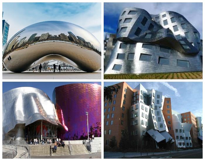 Несколько самых неординарных строений созданных велики маэстро Фрэнком Гери. | Фото: archidea.com.ua.