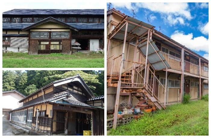 Заброшенные дома в хорошем состоянии, в которые можно заселиться даром (Япония).