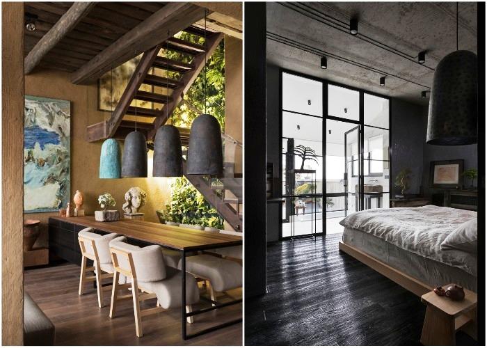 Интерьер киевской квартиры соответствовал всем основным критериям оценки (Wabi Sabi Apartment).