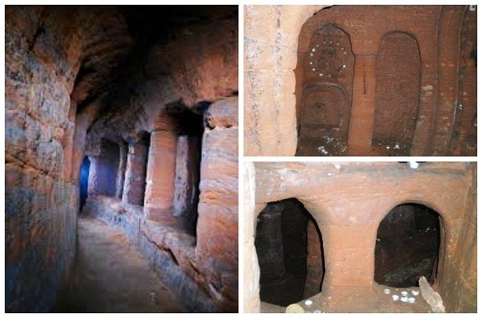 До сих пор так и не определились с тем, кто же создал пещеру Caynton Caves.