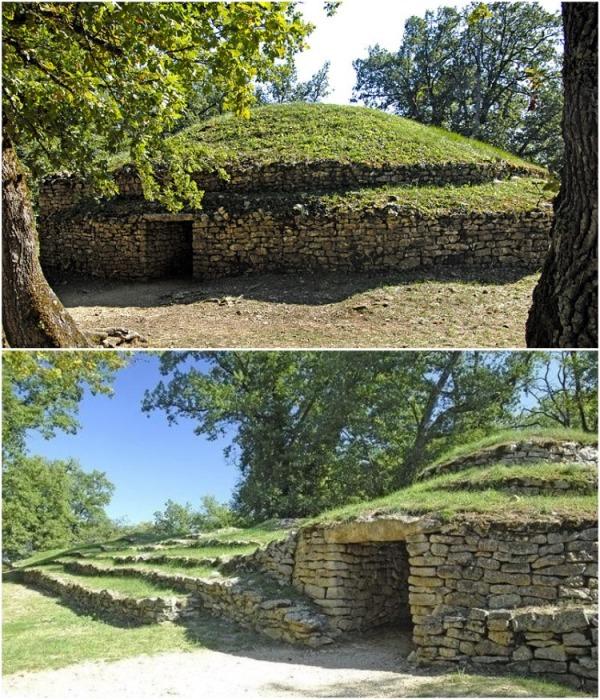Tumulus of Bougon – это пять неолитических курганов, возведенных более 4 тыс. лет назад. | Фото: lifeglobe.net.