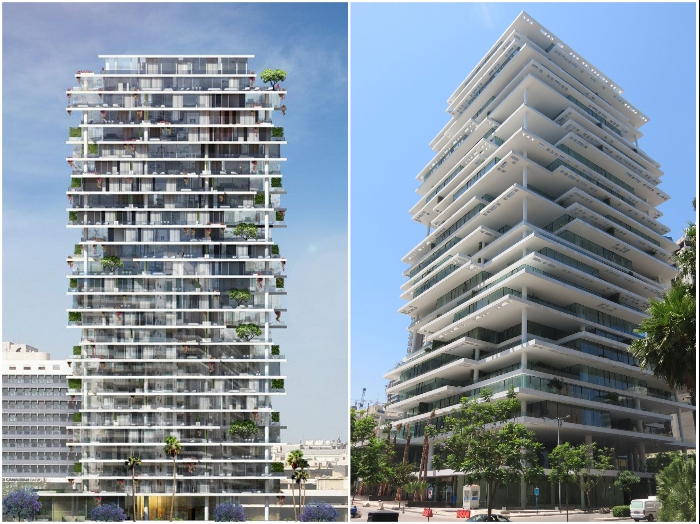 И кто теперь скажет, что все жилые комплексы безликие? («Beirut Terraces», Ливан). | Фото: articles.lebanon-architect.com/ arch2o.com.