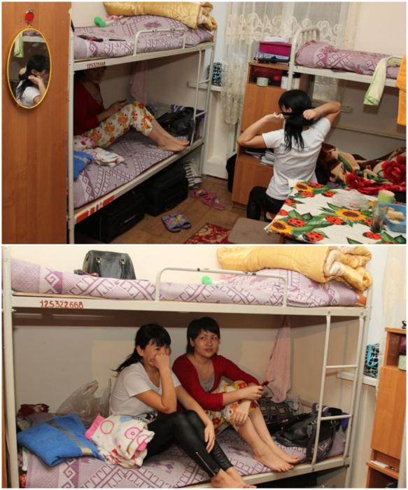 Студенты Казахского национального педагогического университета «весело» живут по 4-5 человек на 10 кв.м. | Фото: yvision.kz.