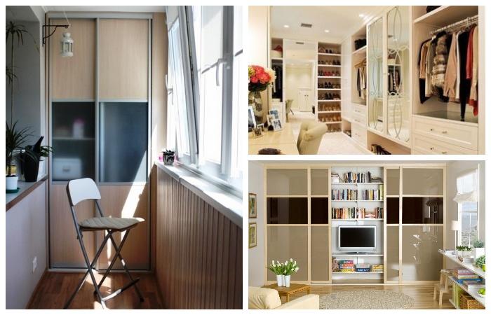В любом помещении лучше установить шкаф до потолка.
