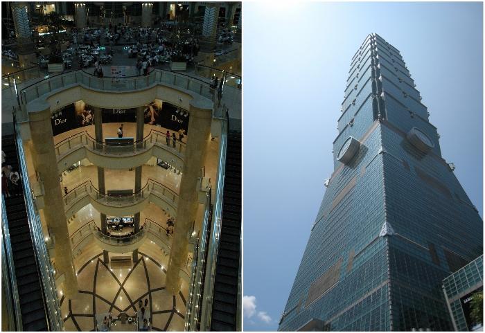 Тайбэй 101 – многофункциональное здание, имеющее 101 надземных и 5 подземных этажей (Тайвань). | Фото: ru.best-wallpaper.net/ liveinternet.ru.