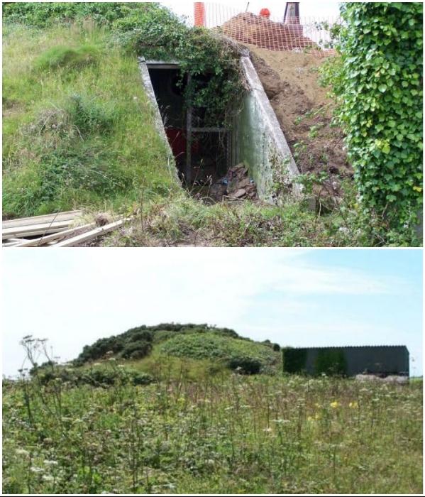 Заброшенный военный бункер был построен во время Второй мировой войны на мысе Лендс-энд в графстве Корнуолл (Великобритания). | Фото: dailymail.co.uk/ uduba.com.