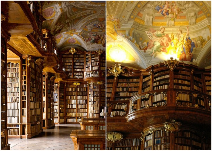 Библиотека монастыря Святого Флориана (Австрия).