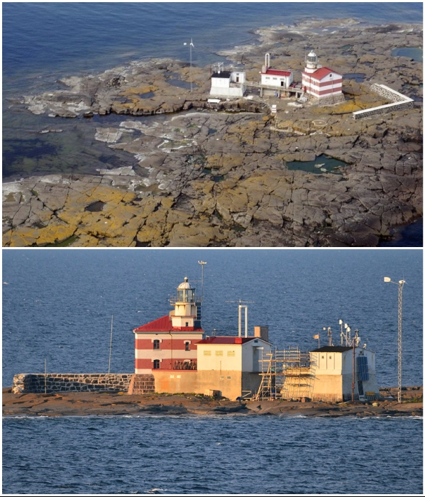 Маяк на острове Меркет находится в самой западной точке Финляндии. | Фото: ru.wikipedia.org/ 28islands.wordpress.com.