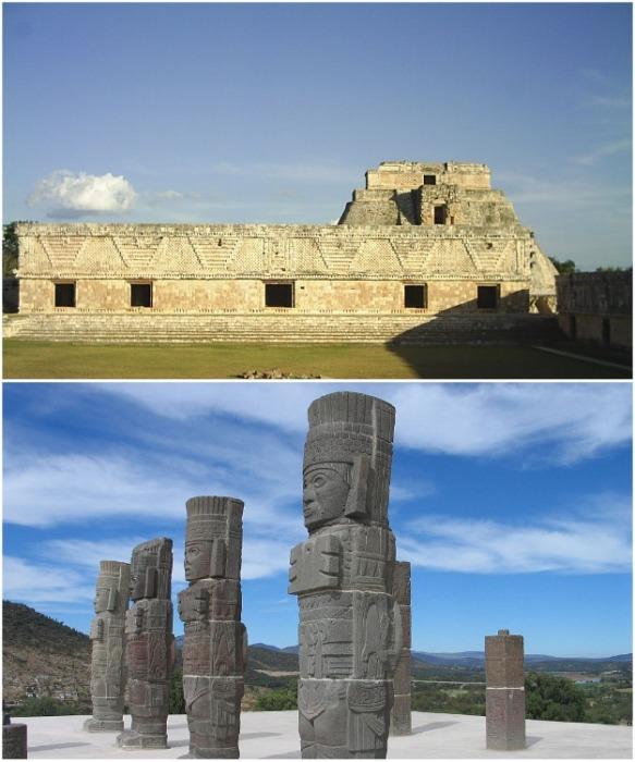 Мезоамериканская архитектура и культура полностью подчинены религиозным и мифологическим убеждениям. | Фото: ru.wikipedia.org.