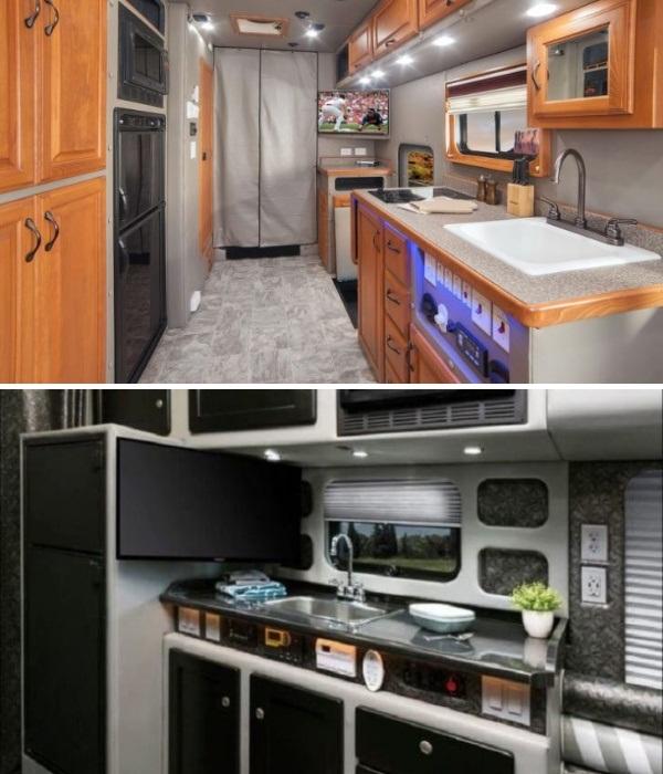 У водителей гурманов есть возможность обустроить полноценную кухню. | Фото: howmade.ru.