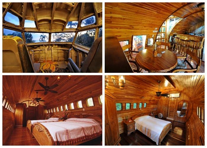 Вся внутренняя отделка сделана из натурального дерева (Hotel Costa Verde). | Фото: itravel.livejournal.com.
