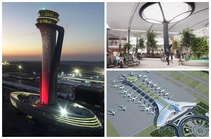 В Стамбуле открылся новый аэропорт (Istanbul Grand Airport).