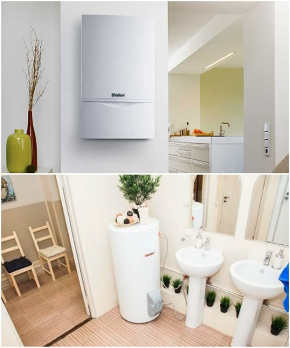 Если жилплощадь позволяет, то и газовые агрегаты можно превратить в оригинальный дизайнерский элемент. | Фото: transgazstroy.ru.