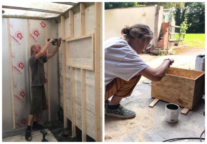 Молодая пара создавала дом своей мечты собственными руками. | Фото: readbakery.com.