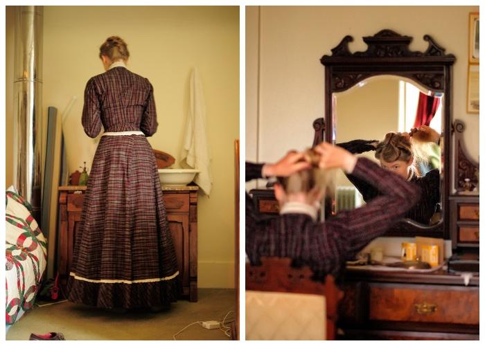 Уход за собой полностью воссоздает тот порядок и условия, которые присущи викторианскому периоду (Сара Крисман).