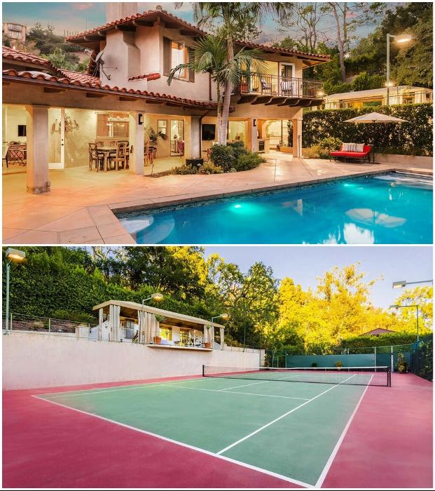 Прекрасный домик в центре Голливуда отличается особенным интерьером и уютом.