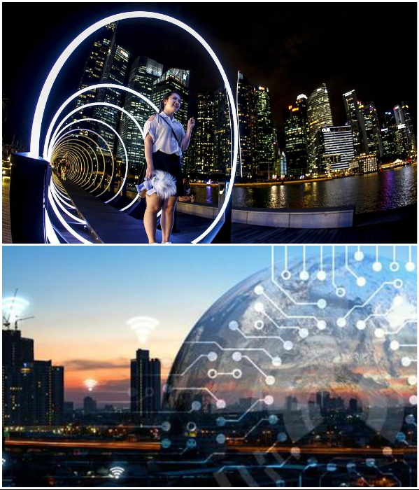 Сингапур, в который раз возглавил рейтинг самых «умных» городов мира.| Фото: news.myseldon.com/ onlinetours.ru.