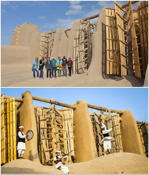 Древние ветряные мельницы становятся местом паломничества туристов (Nashtifan, Иран). | Фото: bignewsnetwork.com/ tripadvisor.com.