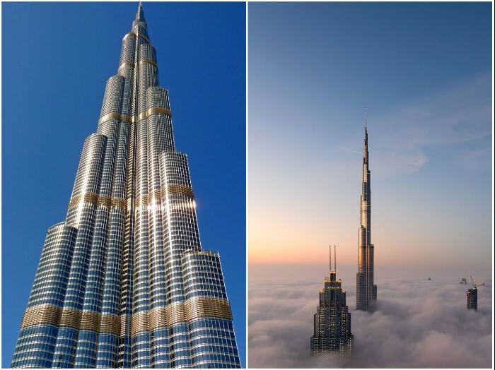 Вот уже 10 лет Бурдж-Халифа является самым высоким сооружением в мире (Дубай, ОАЭ). | Фото: putidorogi-nn.ru/ incomartour.com.ua.