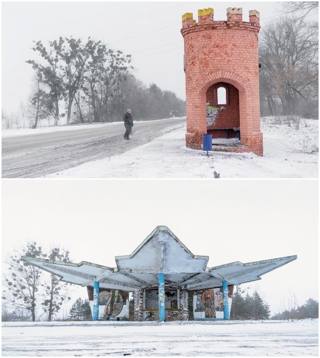 От крепостных башенок до фантастических образов (Остановки в Ровенской области Украины). © Christopher Herwig.
